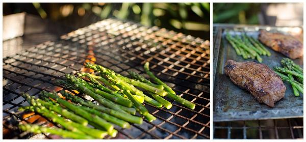 Braaing Asparagus