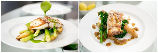 Two Yellowtail dishes
