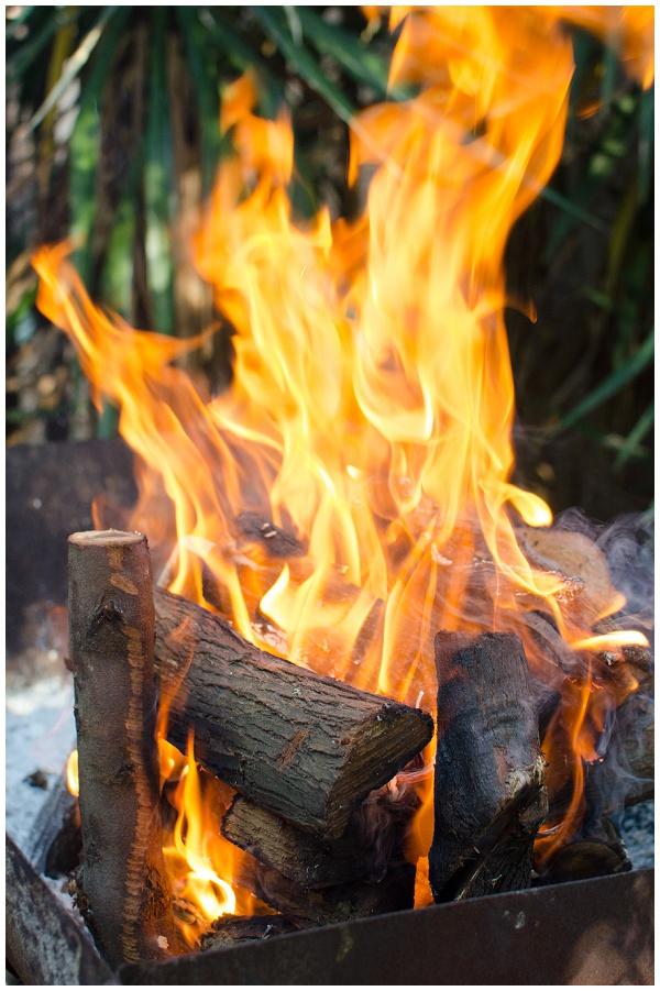 Braai fire