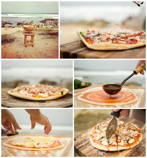 Earthfire Pizza oven at Jongensfontein Beach