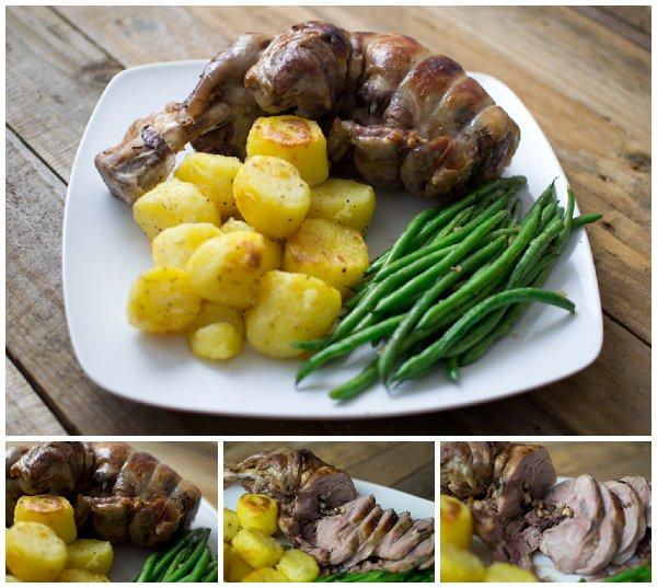 lamb plated