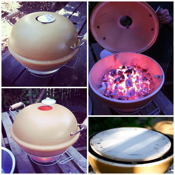 Outdoor Pizza Oven - collage
